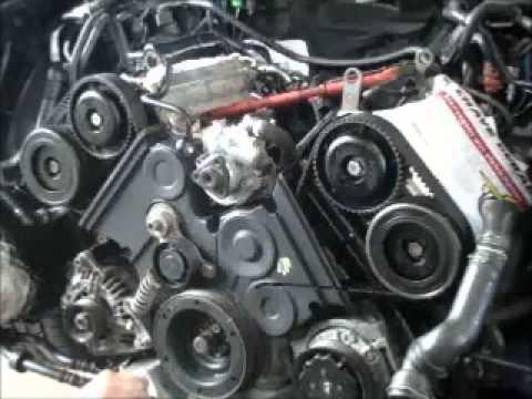 DESMONTAGEM E MONTAGEM MOTOR AUDI A4 V6 3 0 PARTE 02