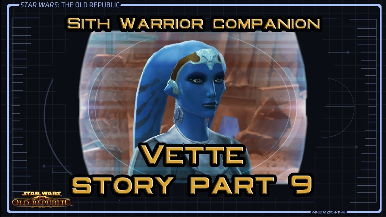 SWTOR Vette Story part 9: Two Truths and a Lie ... - YouTube