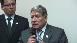 Tema: Primer Año de Gestión del Dr. Orestes Cachay Boza,  Rector de la UNMSM