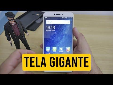 Para quem gosta de TELA GRANDE, Xiaomi Mi Max 2 - Primeiras Impressões