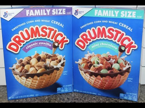Great News! You Can Now Buy Drumstick Ice Cream Cereal
