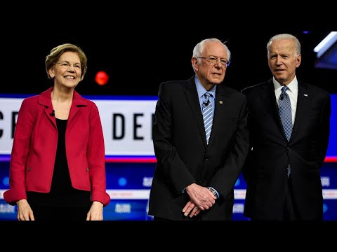Increasing Calls for Warren to Back Sanders to Stop Biden