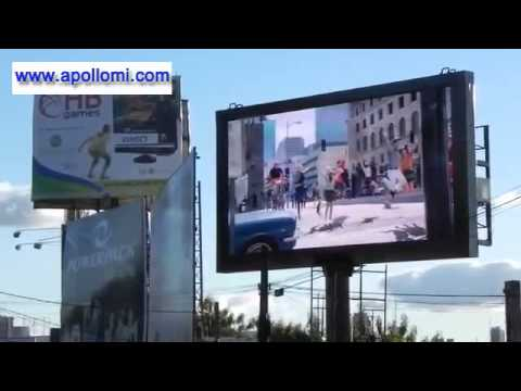 outdoor P8mm video advertising ad led display