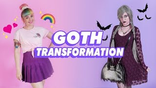 One of Pixielocks's most viewed videos: ♡ PIXIE GOES GOTH?! GOTH TRANSFORMATION! ♡