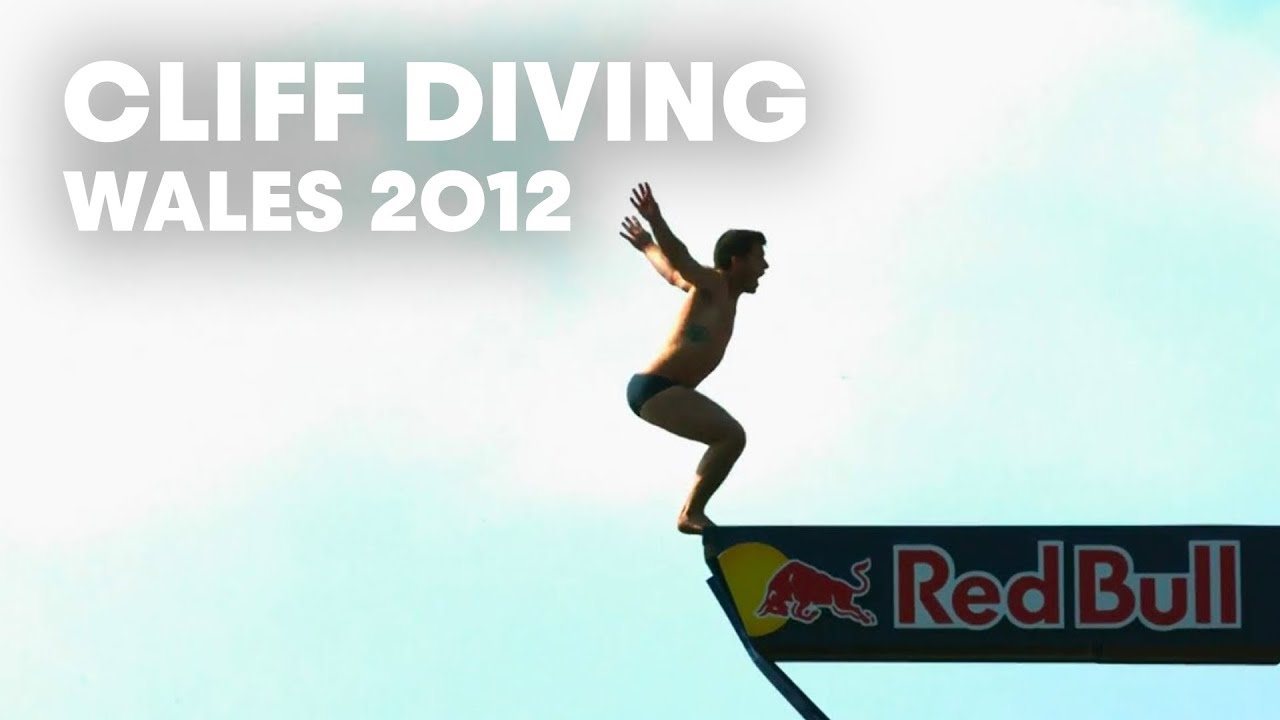 Cliff Diving in Wales - Red Bull Cliff Diving World Series 2012