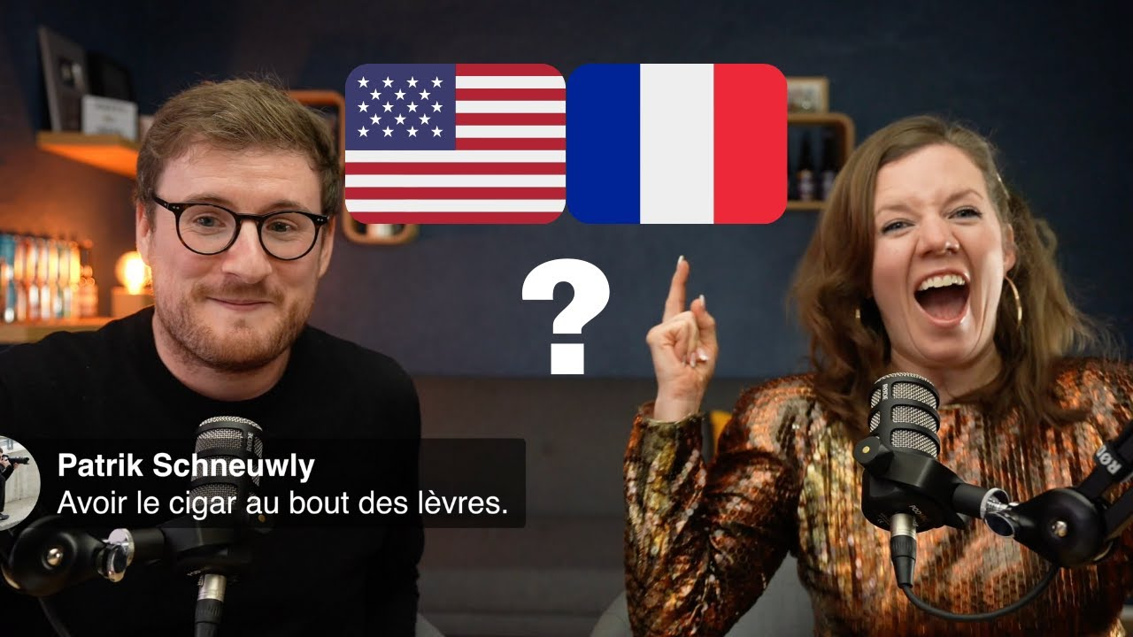 AMERICAN learns your FRENCH expressions - Sarah Donnelly