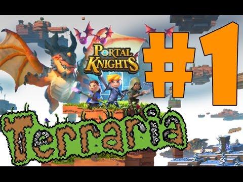 видео: Новая игра от создателей ТЕРРАРИЯ ! portal knights #1