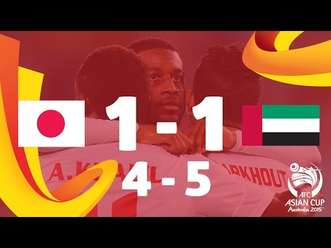 QF4: Japan v UAE - AFC Asian Cup Australia 2015