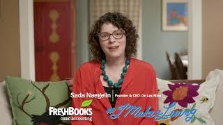 Freshbooks #IMakeALiving promos