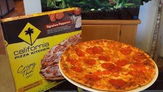 California Pizza Kitchen Crispy Thin Crust Signature Pepperoni Pizza Review