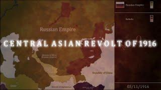 1916 Orta Asya Ayaklanması: Her gün(1916-1917)/Central Asian revolt of 1916: Every day(1916-1917)
