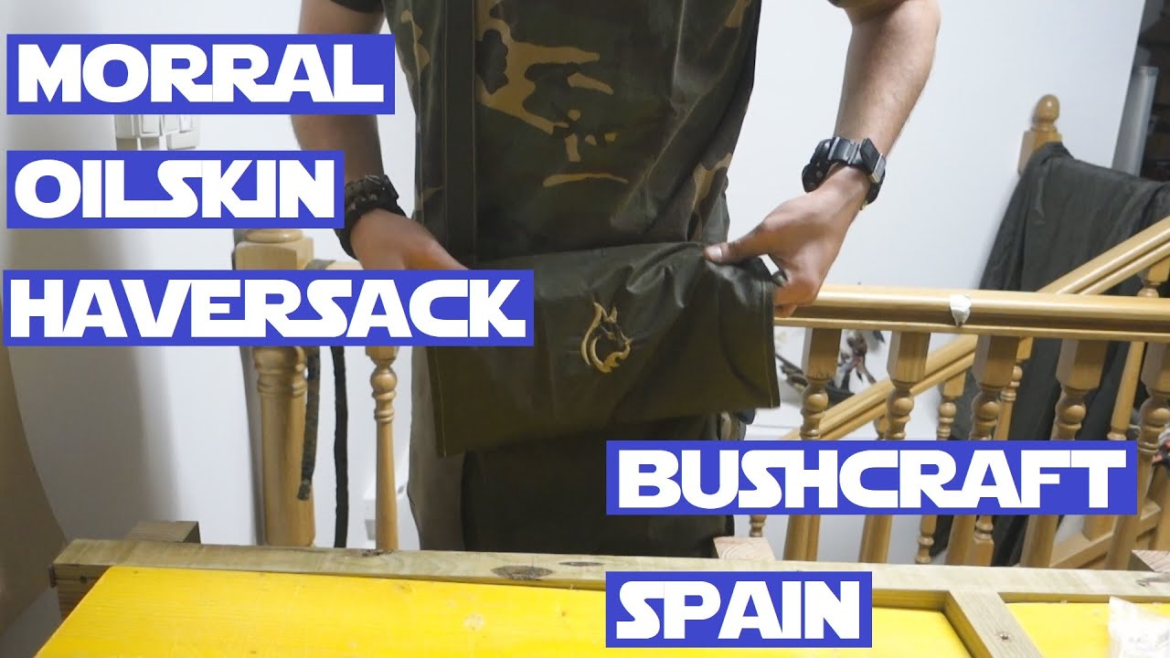 Morral Oilskin Haversack Bushcraft Spain