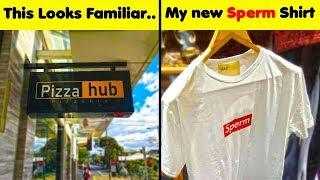The Weirdest Fake Brands Fails..(NEW!)