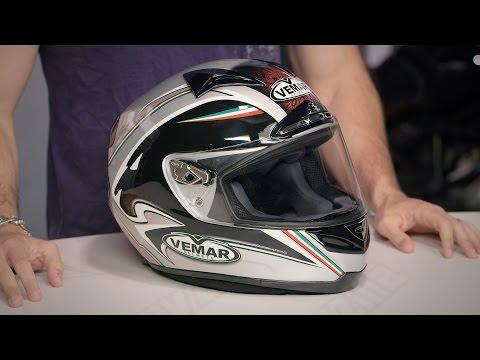 Vemar Eclipse Lion Helmet Review at RevZilla.com