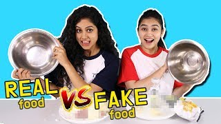 REAL VS FAKE ! Choose the right one, there is a huge penalty hidden RAW vs COOKED CHALLENGE