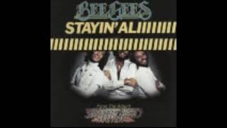 Staying Alive by the Bee Gees but the iconic part of the song extends for 1 hour
