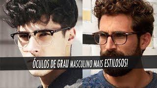 Tipos de Óculos de grau masculino