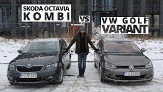 Skoda Octavia Kombi vs. Volkswagen Golf Variant - porównanie AutoCentrum.pl #171