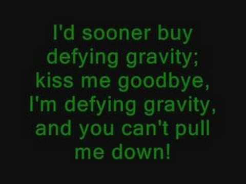 Wicked The Musical Karaoke - Defying Gravity