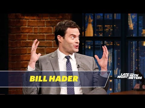 Bill Hader Reveals What Made Him Break on SNL: Bill Hader talks about bringing Stefon back to SNL, breaking during a particularly funny sketch with Cecily Strong and what SNL game show sketch had the best opening line. » Subscribe to Late Night: http://bit.ly/LateNightSeth » Get more Late Night with Seth Meyers: http://www.nbc.com/late-night-with-seth-meyers/ » Watch Late Night with Seth Meyers Weeknights 12:35/11:35c on NBC.  LATE NIGHT ON SOCIAL Follow Late Night on Twitter: https://twitter.com/LateNightSeth Like Late Night on Facebook: https://www.facebook.com/LateNightSeth Find Late Night on Tumblr: http://latenightseth.tumblr.com/ Connect with Late Night on Google+: https://plus.google.com/+LateNightSeth/videos  Late Night with Seth Meyers on YouTube features A-list celebrity guests, memorable comedy, and topical monologue jokes.  NBC ON SOCIAL  Like NBC: http://Facebook.com/NBC Follow NBC: http://Twitter.com/NBC NBC Tumblr: http://NBCtv.tumblr.com/ NBC Pinterest: http://Pinterest.com/NBCtv/ NBC Google+: https://plus.google.com/+NBC YouTube: http://www.youtube.com/nbc NBC Instagram: http://instagram.com/nbctv  Bill Hader Reveals What Made Him Break on SNL- Late Night with Seth Meyers https://youtu.be/NC-TF0SPzzM   Late Night with Seth Meyers http://www.youtube.com/user/latenightseth