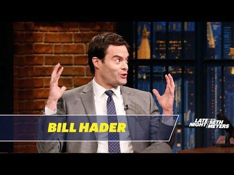 Bill Hader Reveals What Made Him Break on SNL