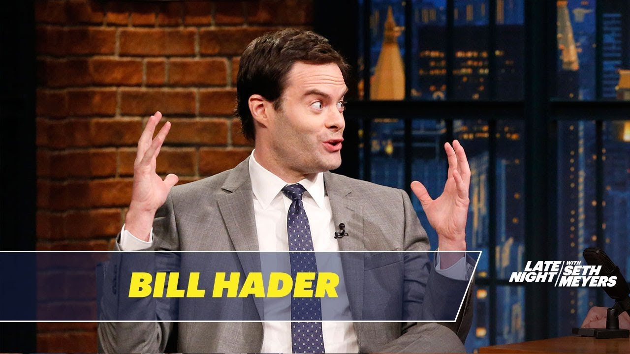 b82d46b5 Here's what John Mulaney said to make Bill Hader break character on SNL