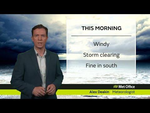 Tuesday morning forecast 17/10/17