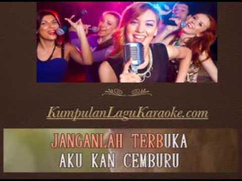 KERUDUNG CINTA - MANSYUR S karaoke dangdut tembang kenangan ( tanpa vokal ) cover