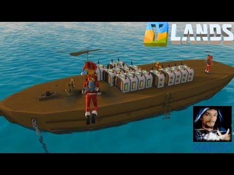 """YLands """"Mit dem Highspeedboat die Welt erkunden!"""" #46 🐶 Tutorial deutsch / german"""