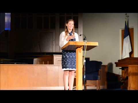 Day 3 of 3 - 2013 Annapolis Christian Academy Senior Thesis