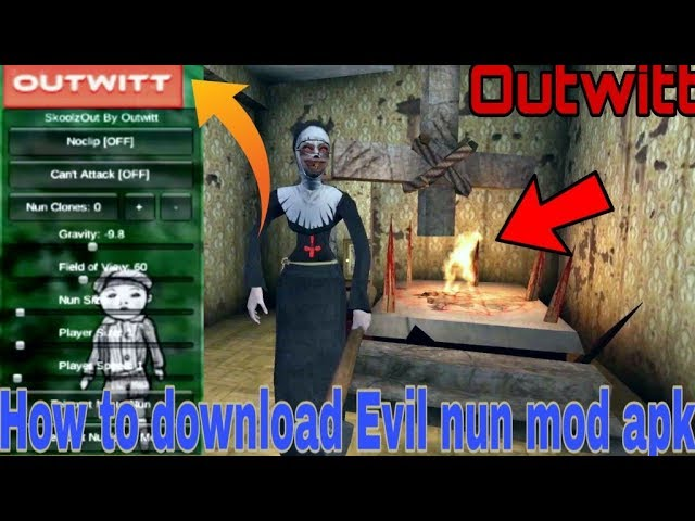 How to download Evil nun Outwitt mod apk version 1.1.7 update. #1