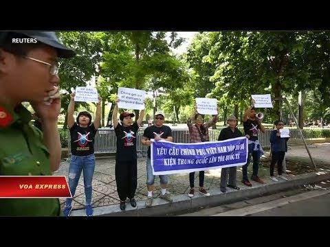 Truyền Hình VOA 7/8/19: Biểu Tình Tại Hà Nội đòi TQ Ra Khỏi Bãi Tư Chính
