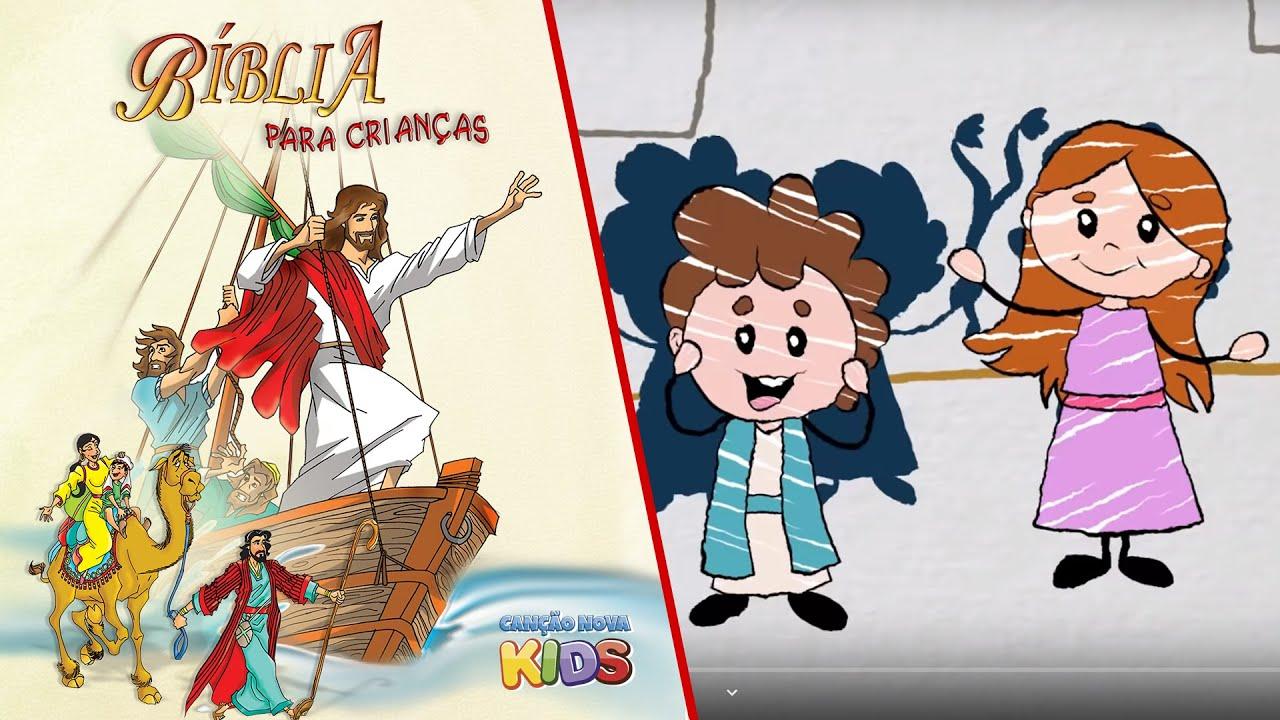 Páscoa de Jesus - Desenho Animado