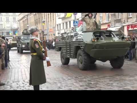 У Львові відбувся військовий парад до Дня Збройних Сил України