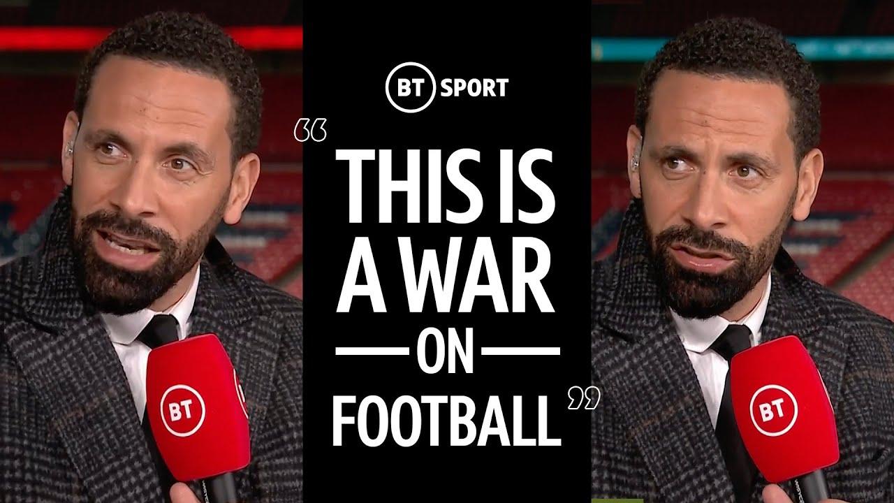 """It's a disgrace!"" - Rio lashes out at European Super League proposal"