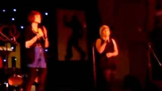 Sarah And Sian At Talent Show