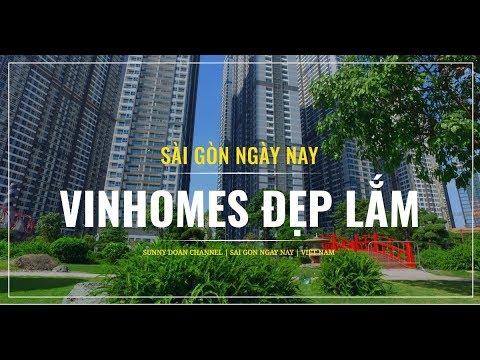 Nét Đẹp Công Viên Ven Sông Sài gòn Vinhomes Central Park | lang thang sài gòn