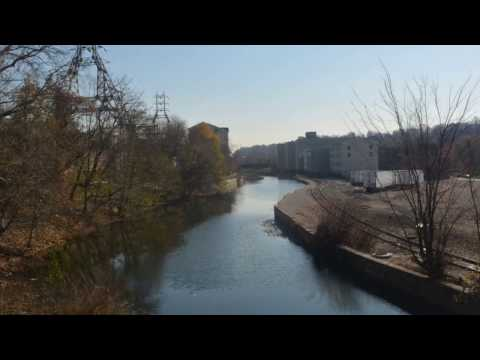 A walk along the historic Manayunk Canal in Philadelphia