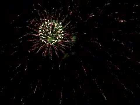 Fuochi d'artificio, Milano, 15/08/07
