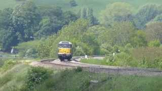 31190 (D5613) 6z32 Railvac Movement @ Newton st Loe 27th May 2013