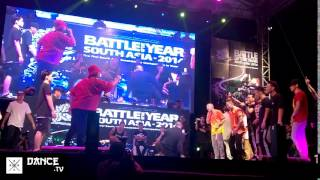 Dance.tv / BOTY South Asia 2014 - S.I.N.E vs Giller Battle - Semi Final - HD