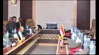 الفريق محمود حجازى يعود إلى أرض الوطن بعد زيارته لدولة الإمارات