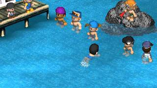 Harvest Moon Back To Nature - Swimming Festival