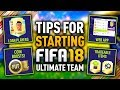 how to start fifa 18 ultimate team top 5 best tips