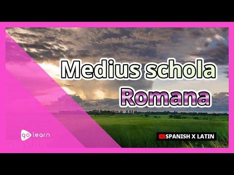 Medius schola Romana