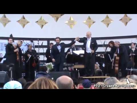 """Premiere of the rhapsody No.5""""Bells field"""" from the poem """"Russian Rhapsody"""". Moscow, September 2017"""