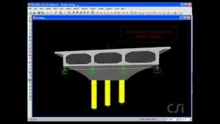 Sap 2000 Tutorial (lecture 3: Bridge Design)