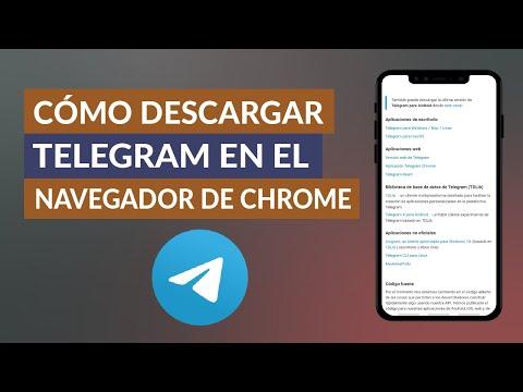 Cómo Instalar Telegram en el Navegador Google Chrome Desde PC