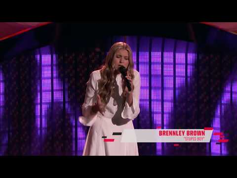 +bit.ly/lovevoice12+The Voice 12 Blind Audition Brennley Brown Stupid Boy