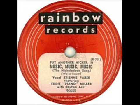 Etienne Paree -  Music! Music! Music! (Put Another Nickel In) (1949)